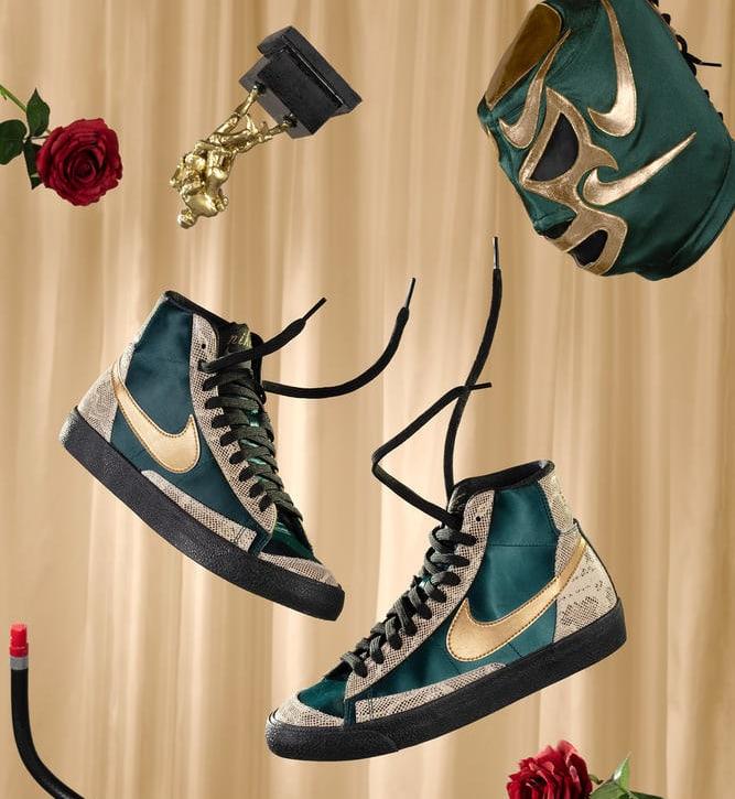 Nike Blazer High 'Lucha Libre'