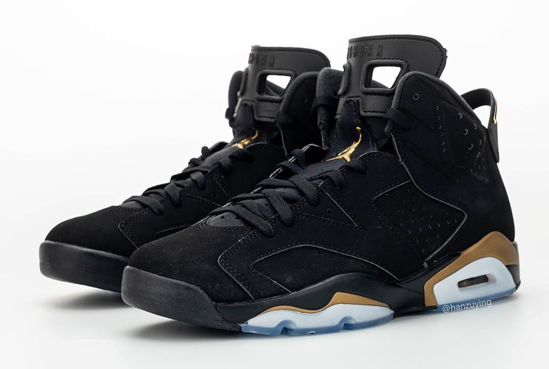 Air Jordan 6 DMP Release Date CT4594-007 Top Pair