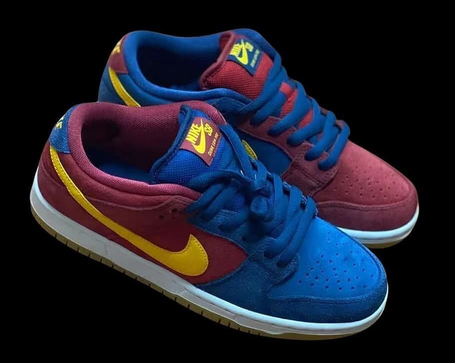 Nike SB Dunk Low 'Barcelona' Pair