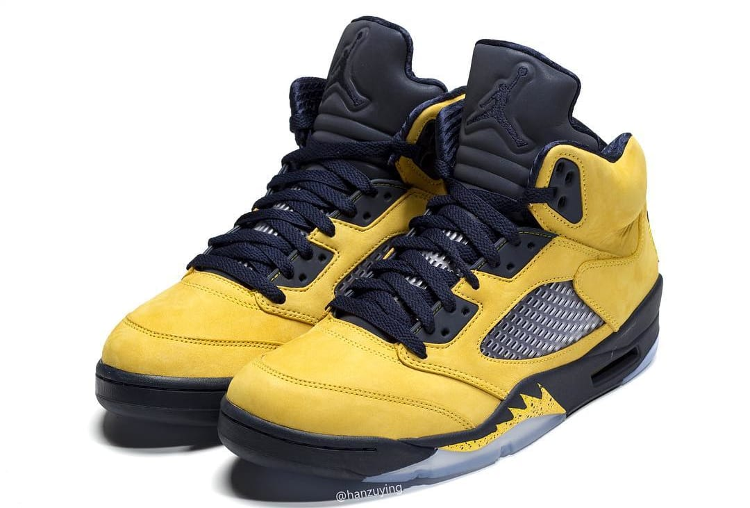 timeless design e82e8 28062 Air Jordan 5 SP  Michigan  CQ9541-704