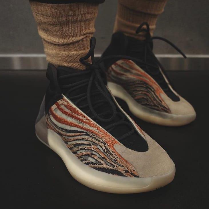 Adidas Yeezy QNTM 'Flaora' Front