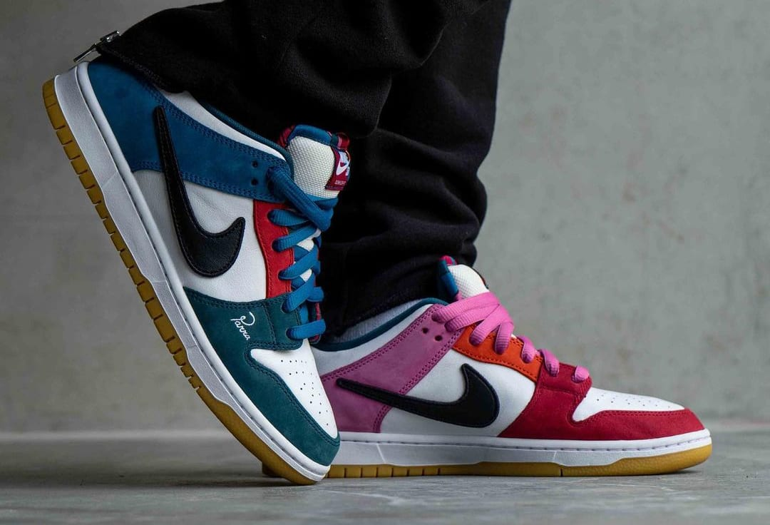 Parra x Nike SB Dunk Low DH7695-100 Lateral