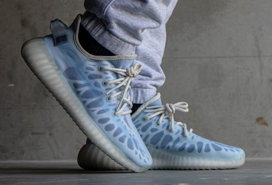 Adidas Yeezy Boost 350 V2 'Mono Ice' Side
