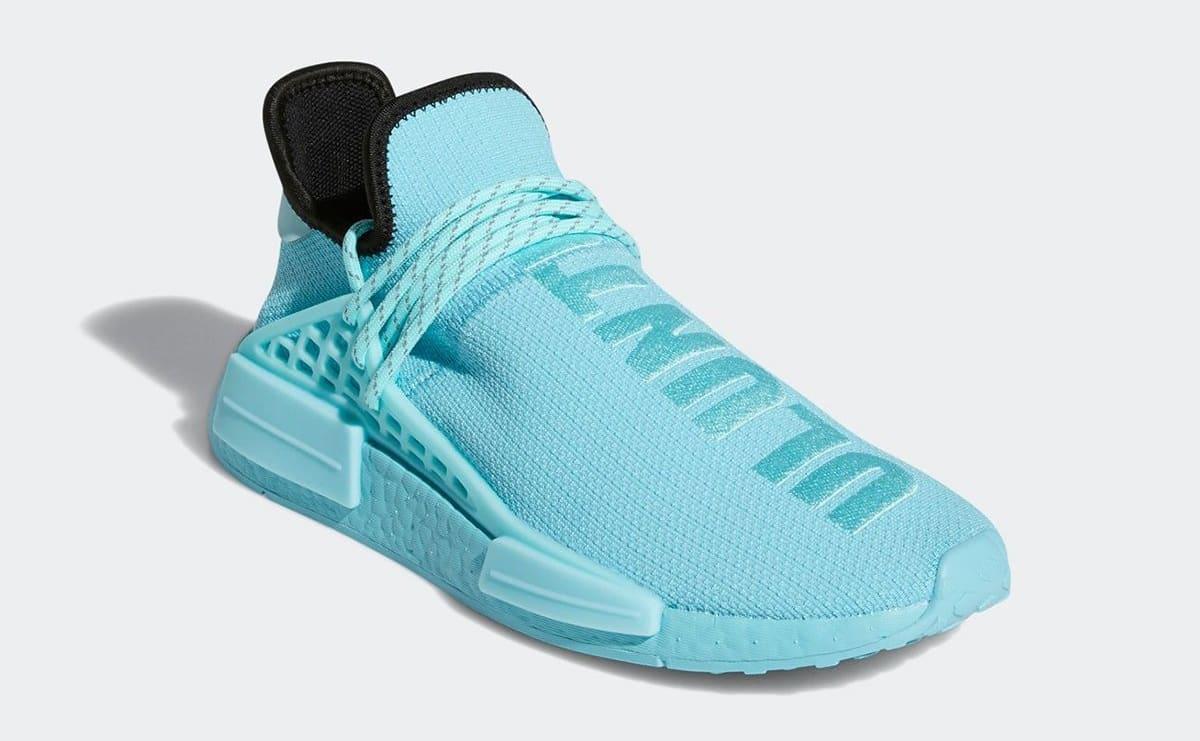 Pharrell Adidas NMD Hu 'Aqua' GY0094 Front