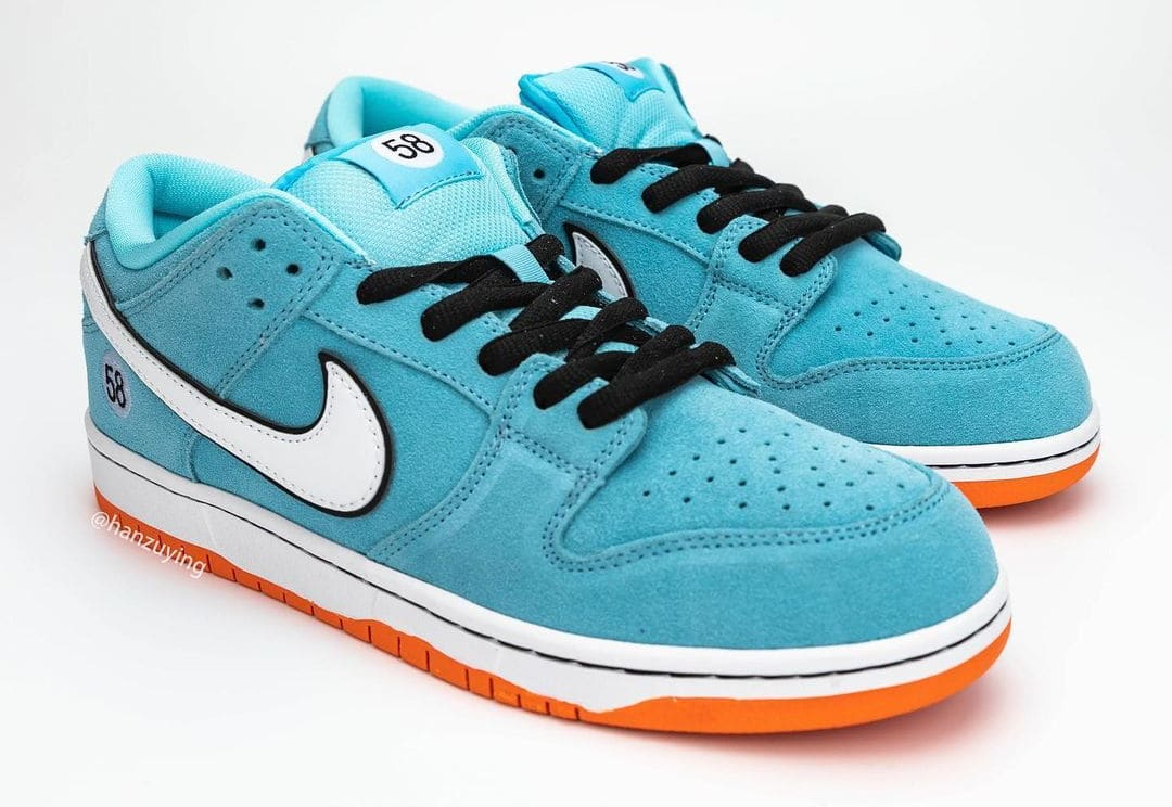 Nike SB Dunk Low 'Gulf' BQ6817-401 Pair