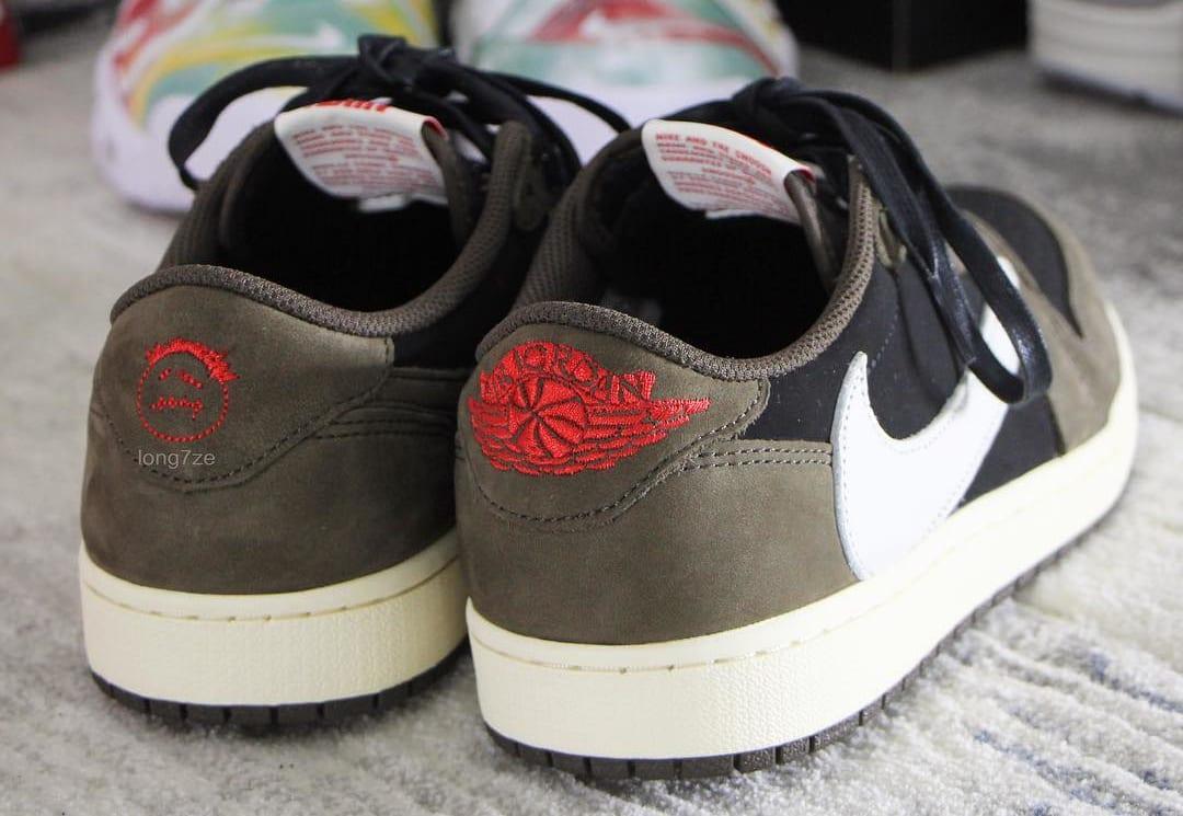 Travis Scott x Air Jordan 1 Low Heel