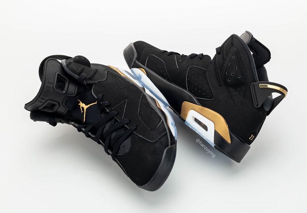 Air Jordan 6 DMP Release Date CT4594-007 Toe Heel