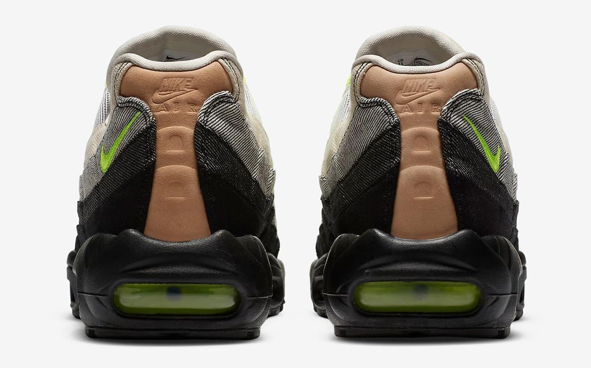 Denham x Nike Air Max 95 CU1644-001 Heel