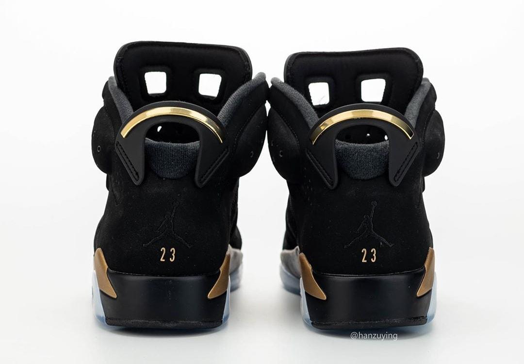 Air Jordan 6 DMP Release Date CT4594-007 Heel