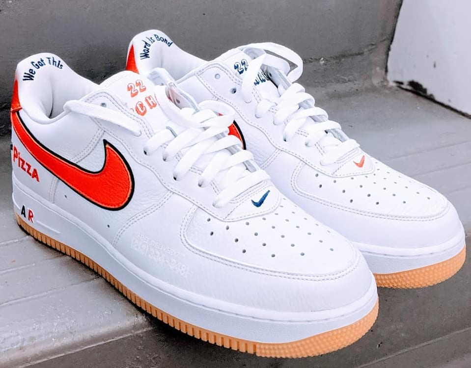 0b1b71af21 Scarr's Pizza Shop Made Its Own Nike Air Force 1s | Sole Collector