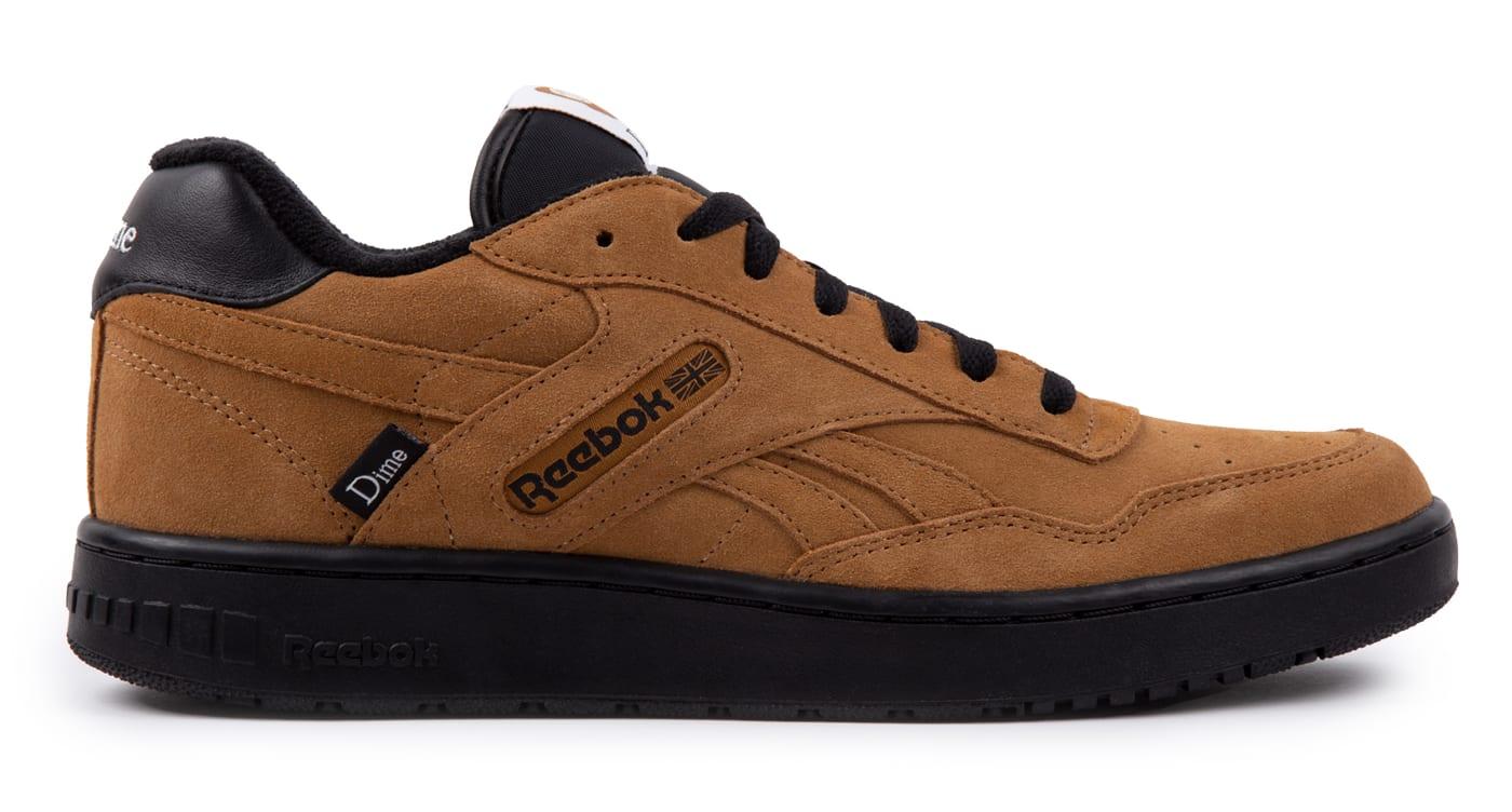 Dime x Reebok BB4000 Brown Lateral