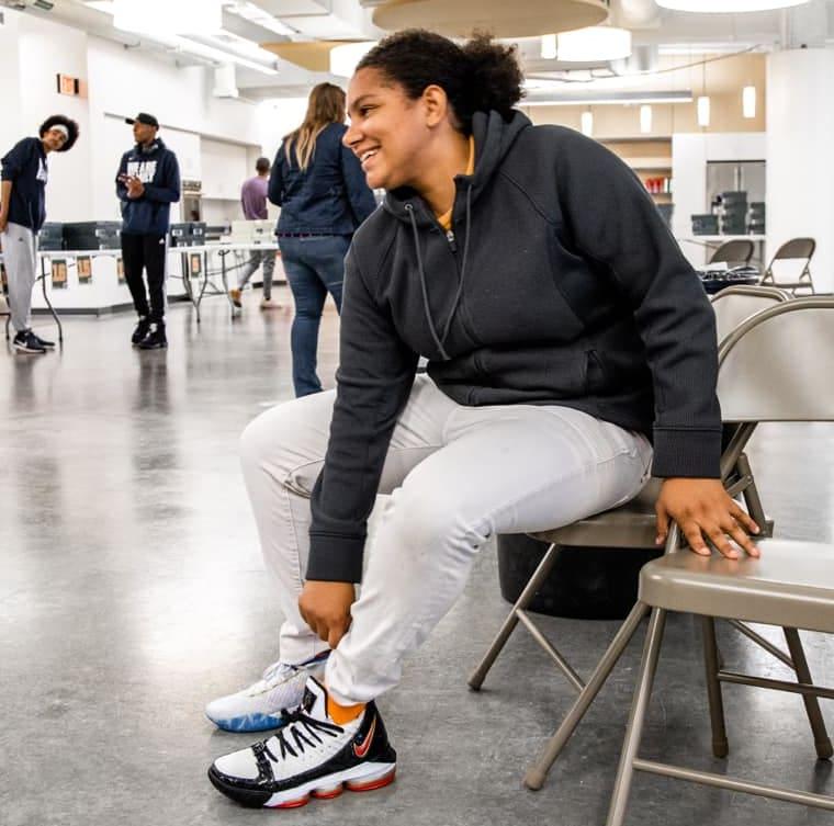 LeBron James I Promise School Sneakers