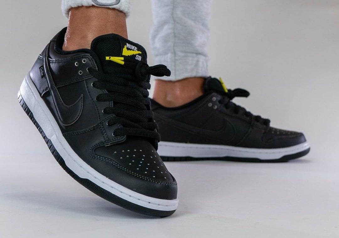 Civilist x Nike SB Dunk Low Black/Multicolor CZ5123-001 Front