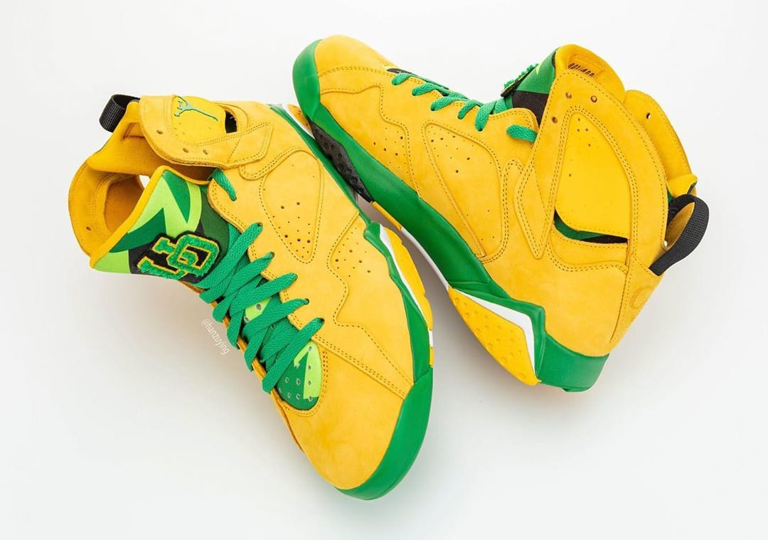 air jordan 7 retro pe oregon ducks