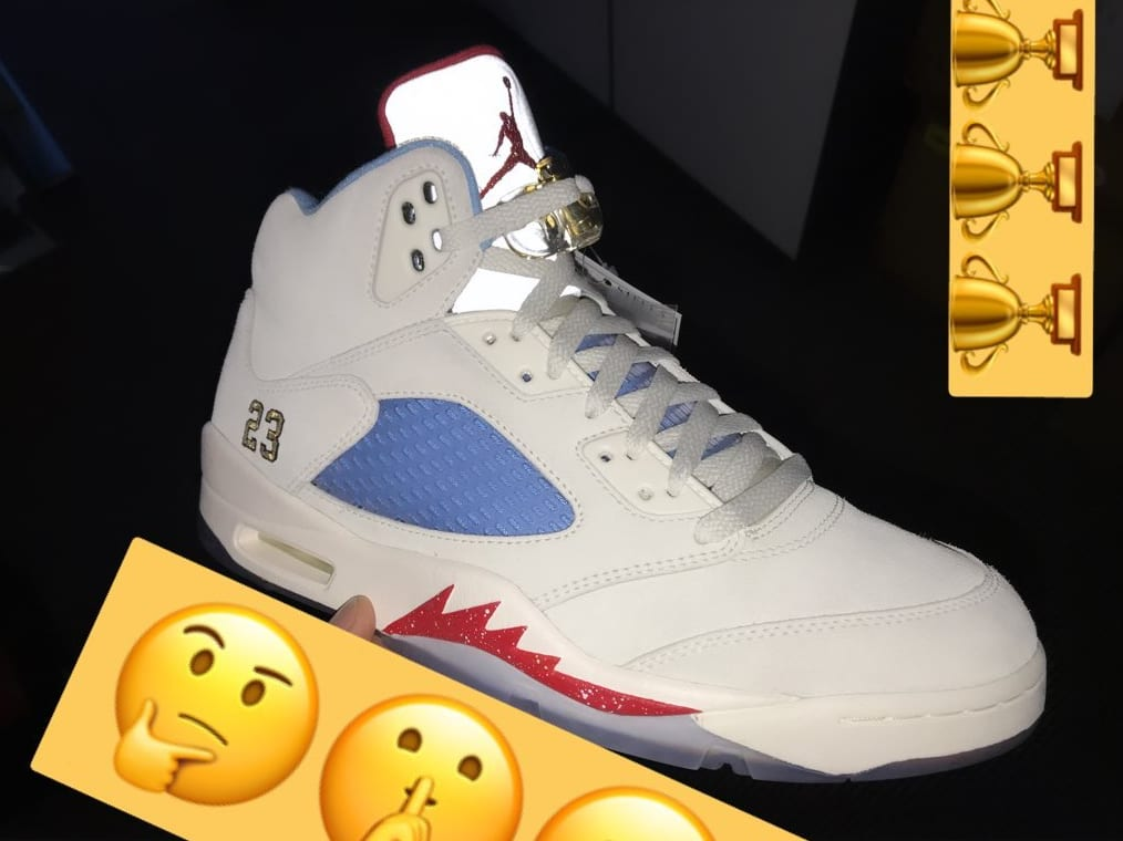 Trophy Room x Air Jordan 5 'Sail'