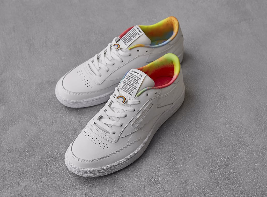 Reebok Club C 'All Types of Love' Top