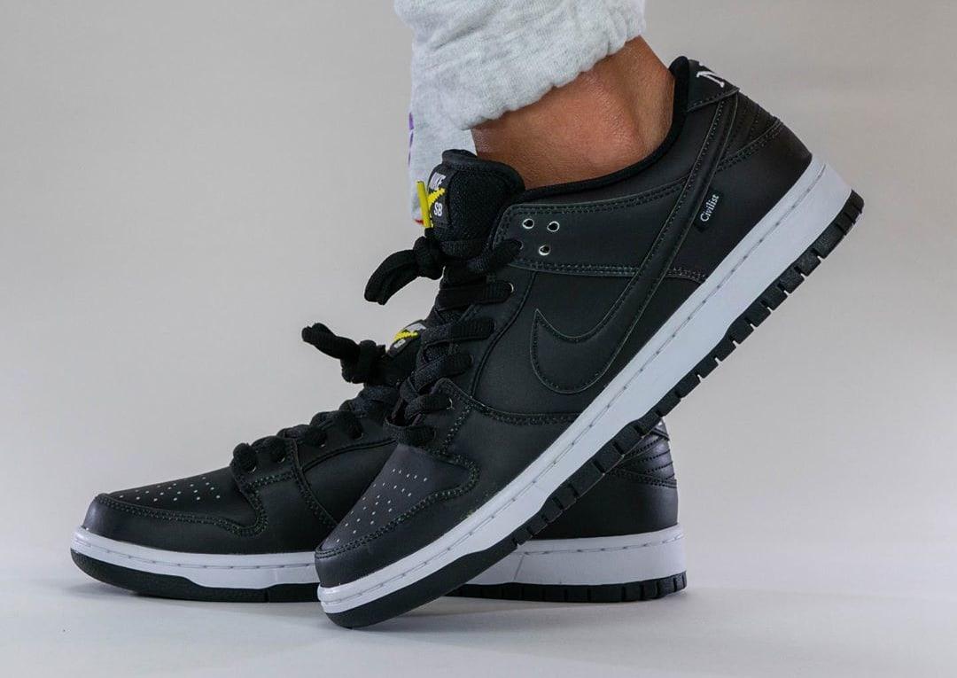 Civilist x Nike SB Dunk Low Black/Multicolor CZ5123-001 Side