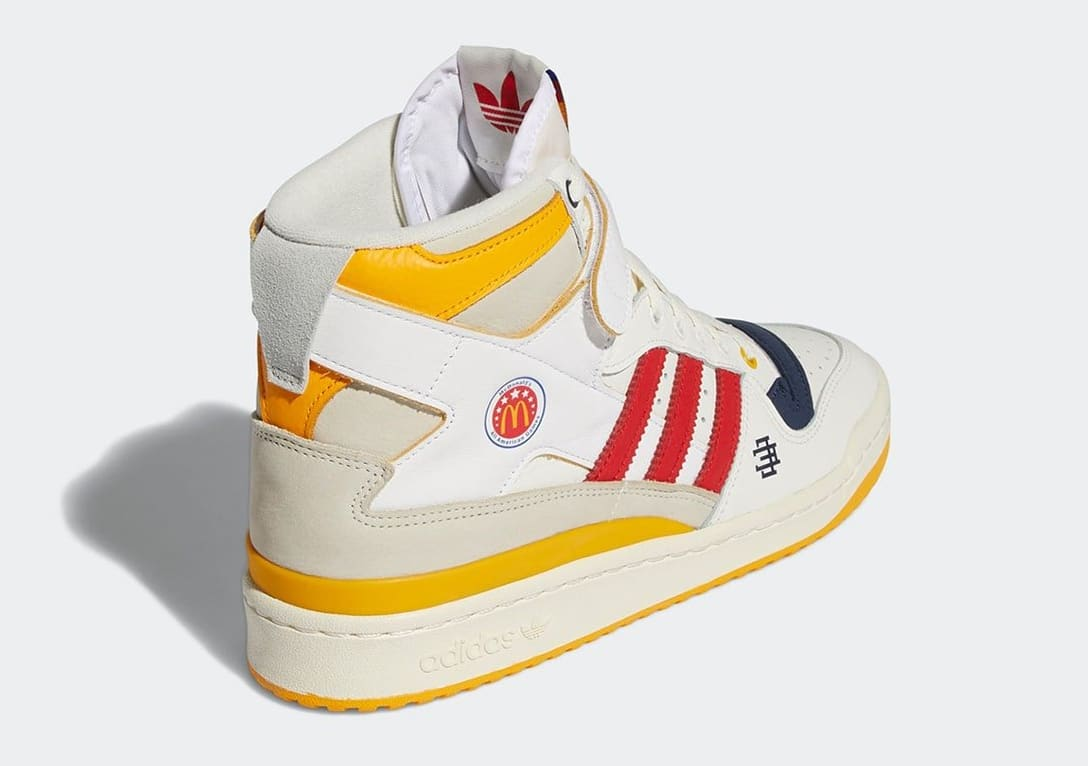 Eric Emanuel x Adidas Forum Hi 'McDonald's All-American' H02575 Heel