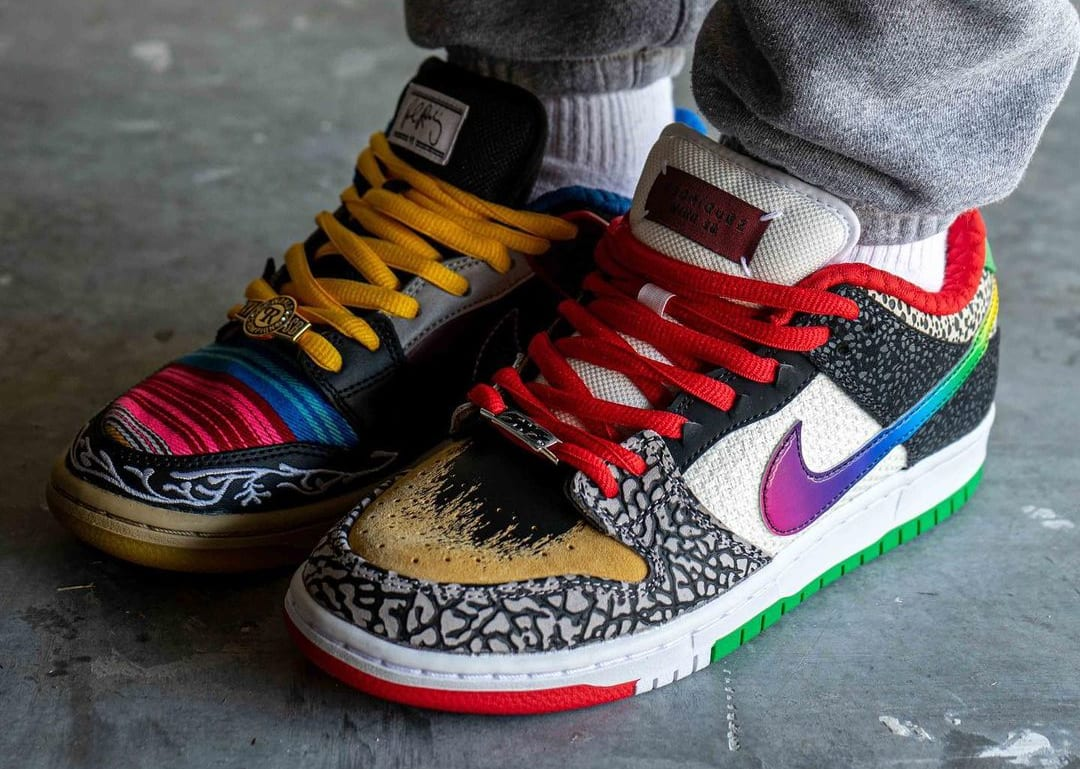 Nike SB Dunk Low 'What The P-Rod' CZ2239-600 Pair