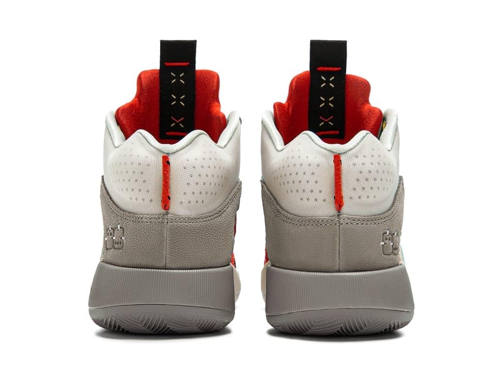 CLOT x Air Jordan 35 XXXV Release Date DD9322-200 Heel