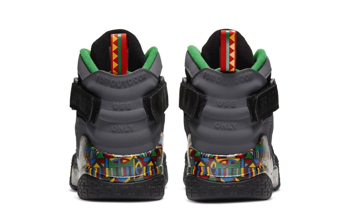Nike Air Raid Retro 'Urban Jungle Gym' Heel