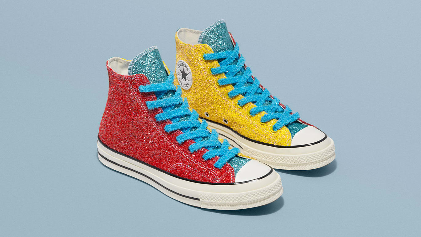 Converse Taps JW Anderson For Three Glittery Chuck 70