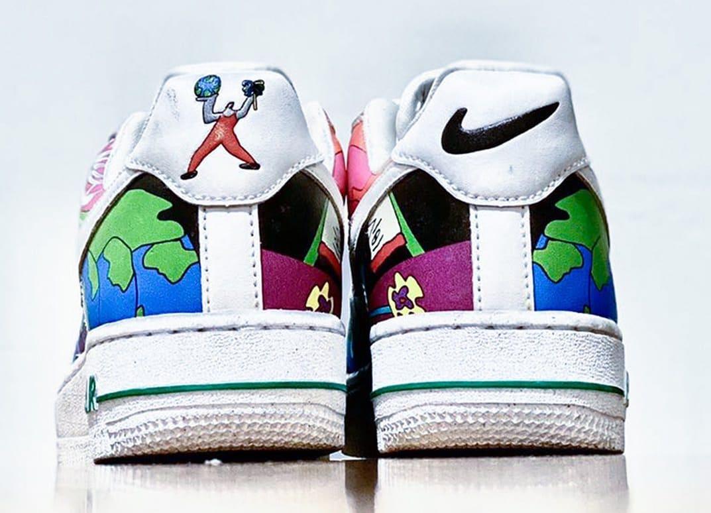 Ruohan Wang x Nike Air Force 1 Low back