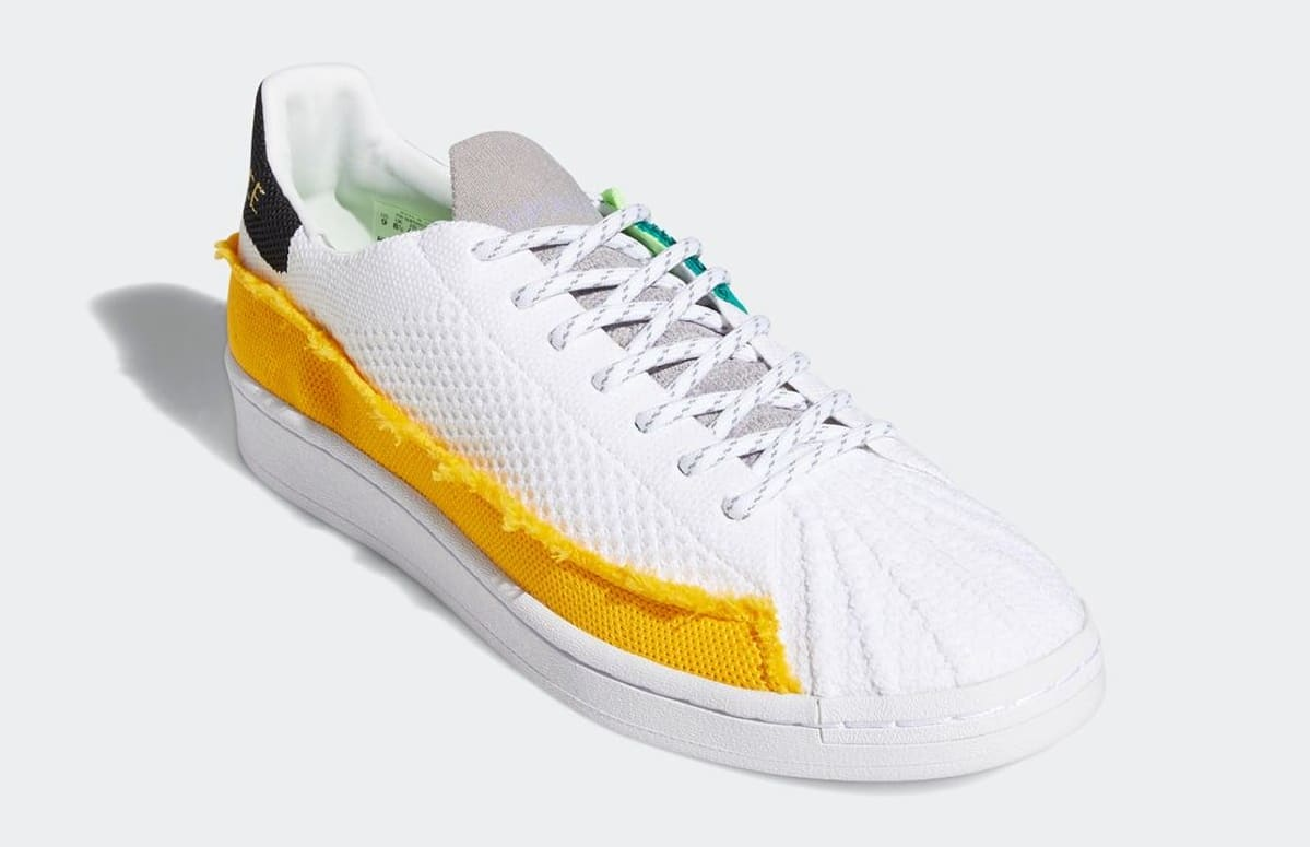 Pharrell Williams x Adidas Superstar White FY2294 Front