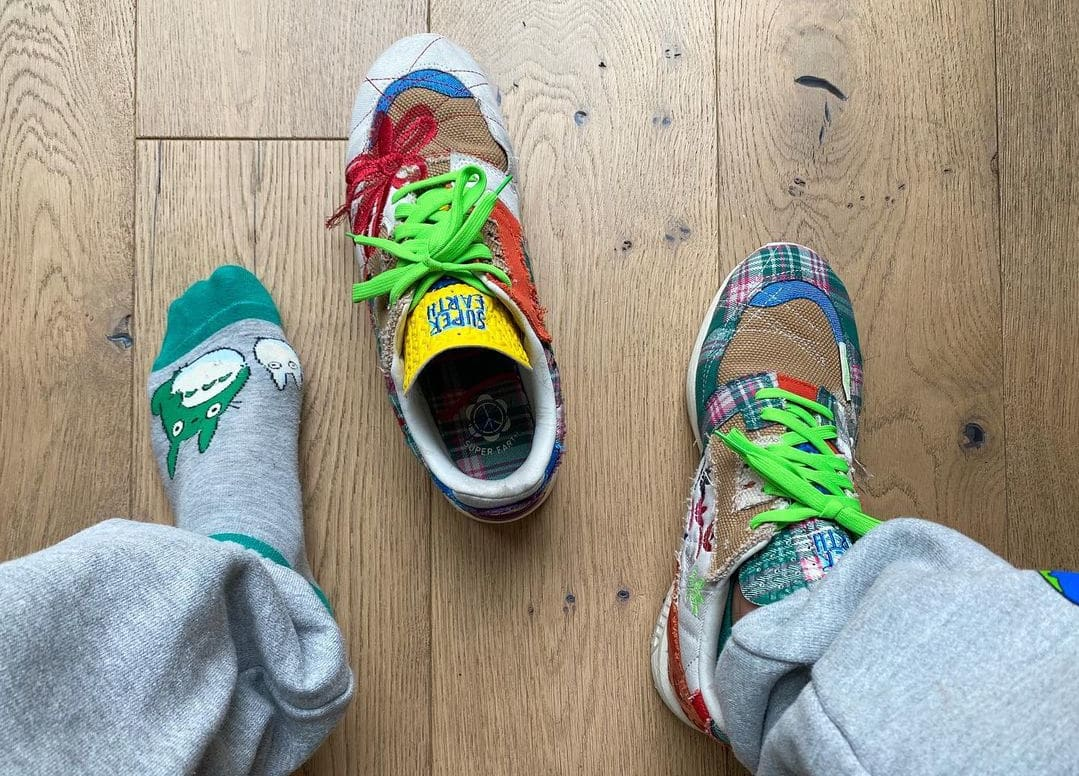 Sean Wotherspoon x Adidas ZX 8000 Collab Top