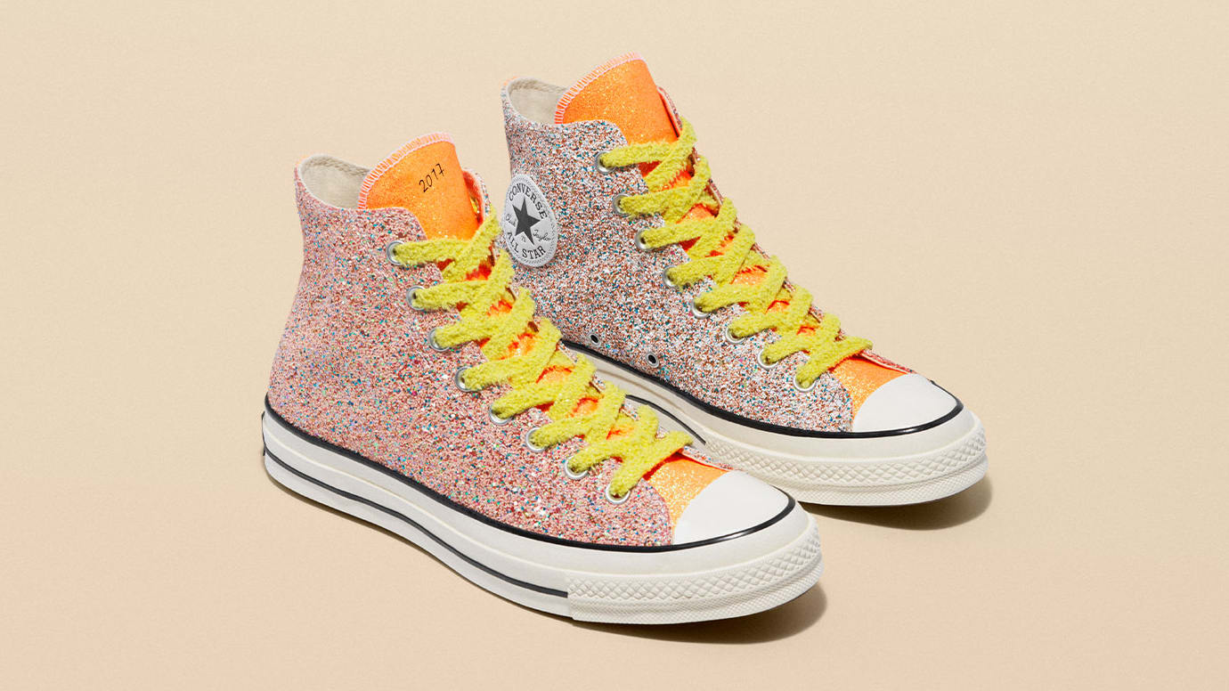 JW Anderson x Converse Chuck 70 'Glitter' Collection 1