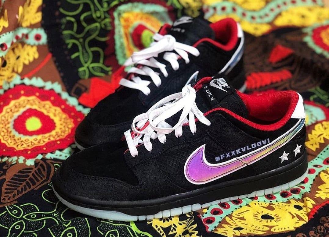LPL x Nike Dunk Low Pair