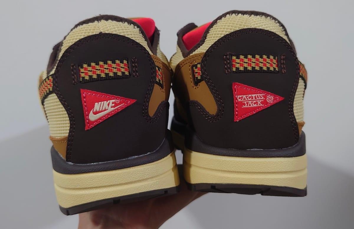 Travis Scott x Nike Air Max 1 Collab Heel