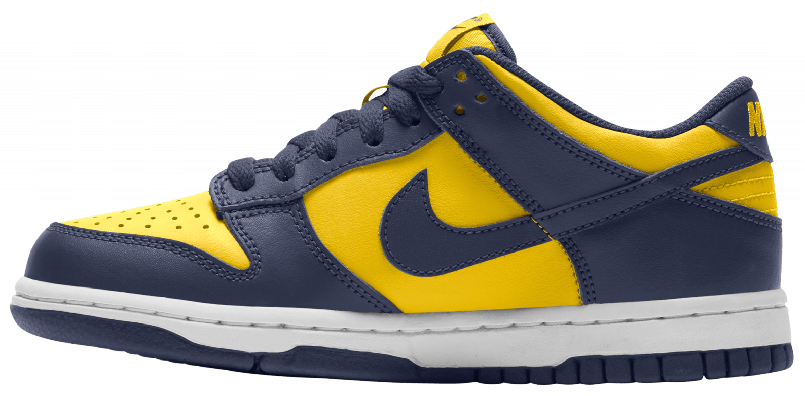 Nike Dunk Low GS 'Michigan' 2021 Medial
