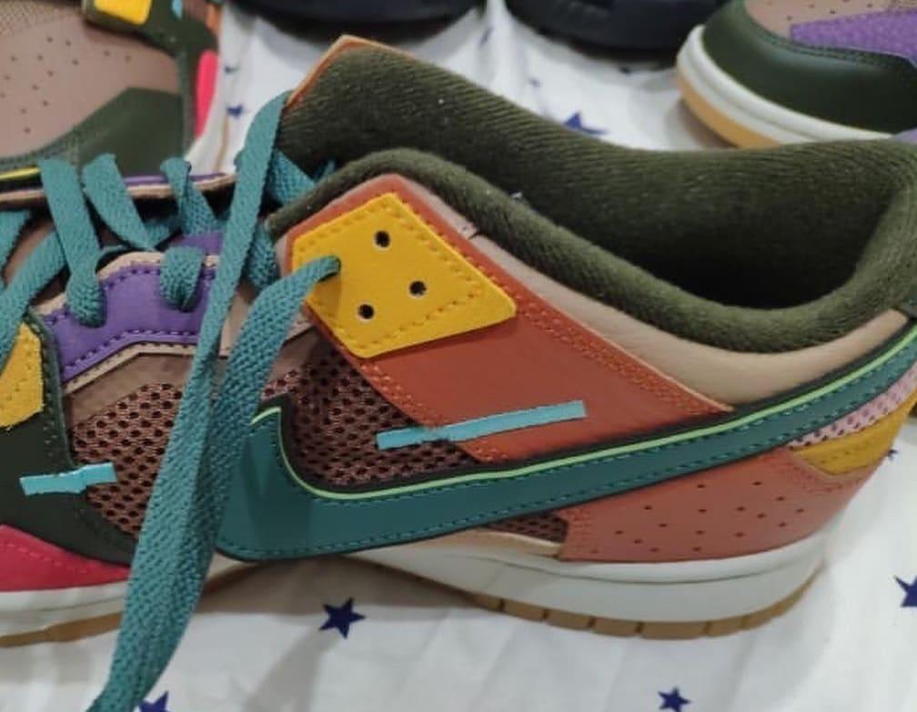 Nike Dunk Low 'Scrap' Medial