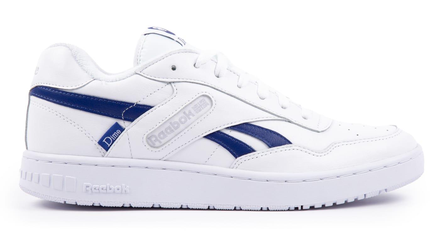 Dime x Reebok BB4000 White Lateral