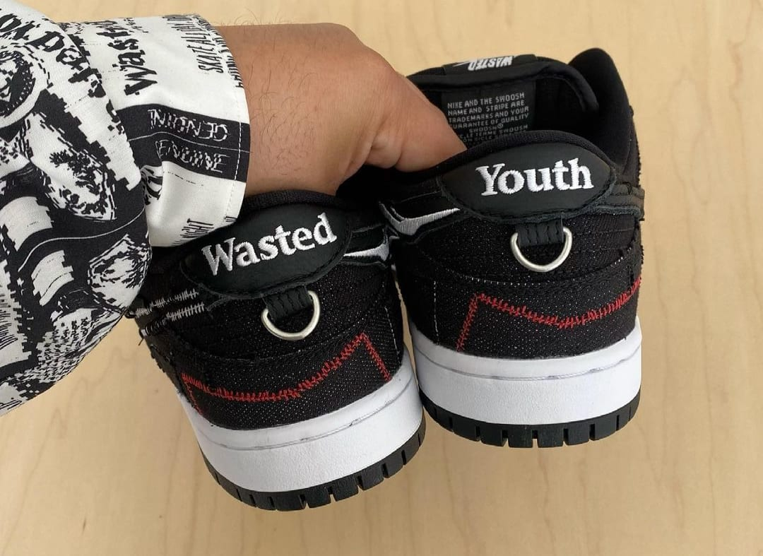 Wasted Youth x Nike SB Dunk Low Heel
