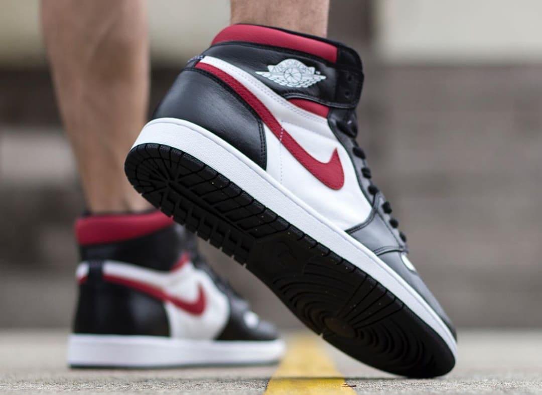 Air Jordan 1 'Gym Red' 555088-061 (Sole)