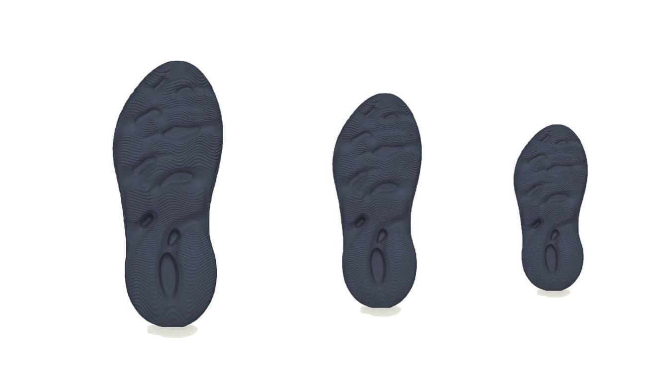 Adidas Yeezy Foam Runner 'Mineral Blue' Outsole