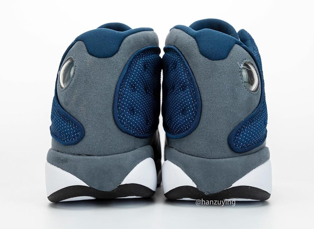 Air Jordan 13 Retro 'Flint' 414571-404 Heel
