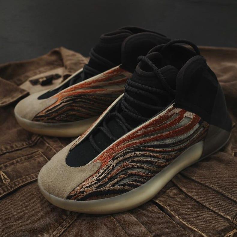 Adidas Yeezy QNTM 'Flaora' Pair