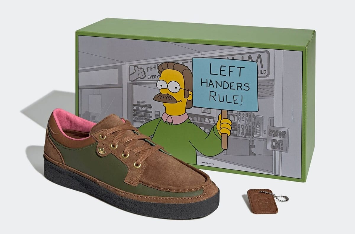 The Simpsons x Adidas McCarten 'Ned Flanders' GY8439 Box