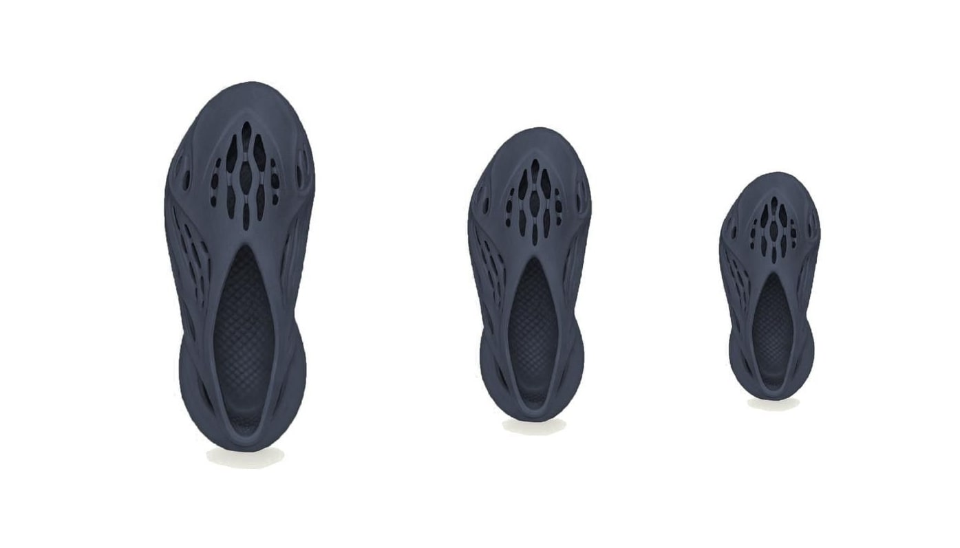 Adidas Yeezy Foam Runner 'Mineral Blue' Top