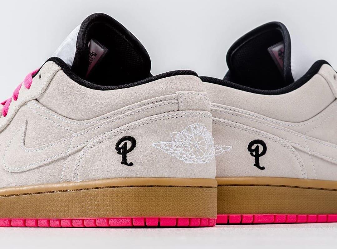 Sneaker Politics x Air Jordan 1 Low (Detail)