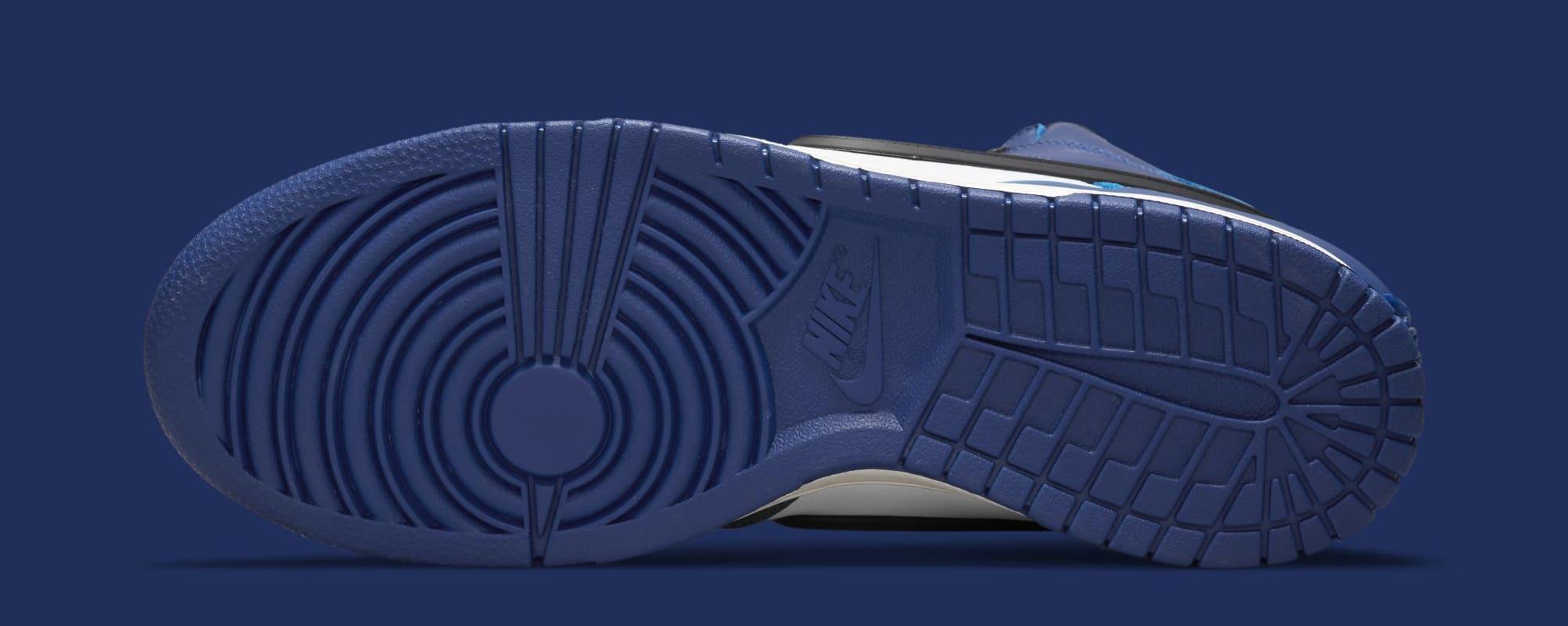 Ambush x Nike Dunk High 'Deep Royal Blue' CU7544-400 (Sole)
