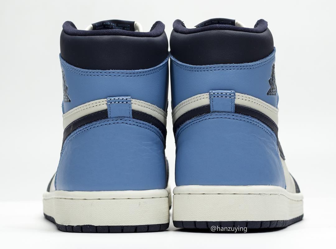Air Jordan 1 555088-140 (Heel)
