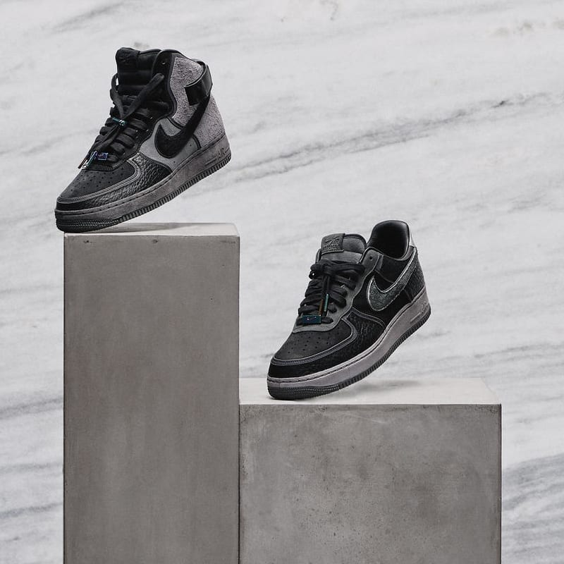 A Ma Maniere x Nike Air Force 1 High & Low Hand Wash Cold