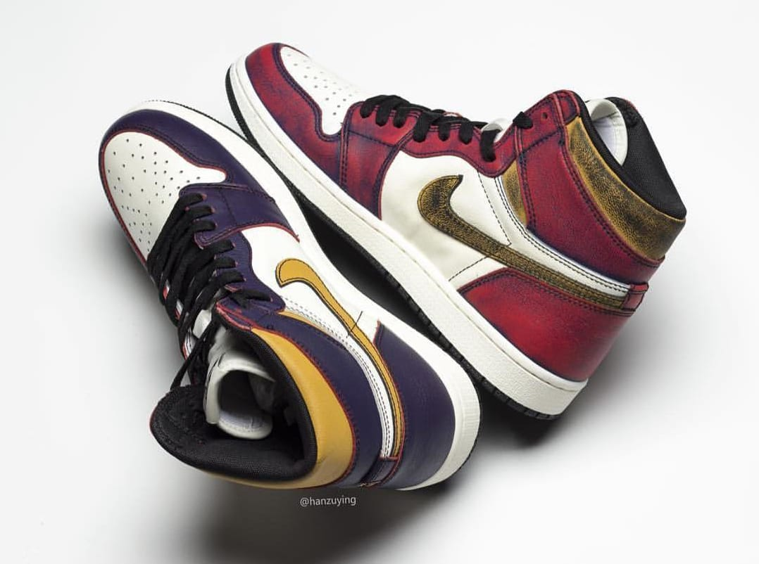 56914e90f5e Nike SB x Air Jordan 1 'Lakers' Release Date | Sole Collector
