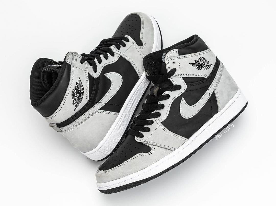 Air Jordan 1 Retro High OG 'Shadow 2.0' 555088-035 Pair
