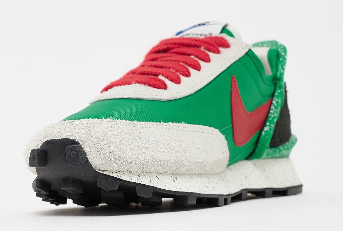 Undercover x Nike Daybreak 'Lucky Green' CJ3295-300 Toe
