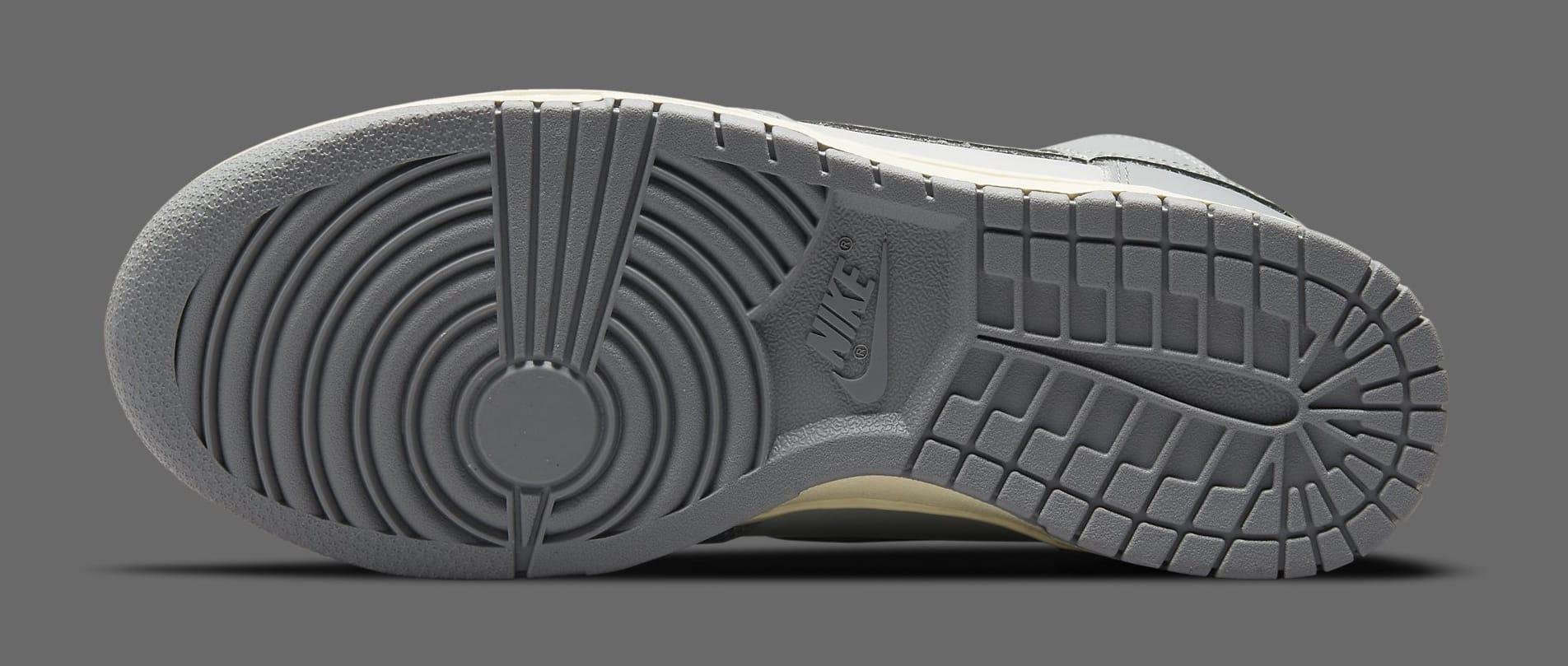 Nike Dunk High 'Grey' DD1869-001 Outsole
